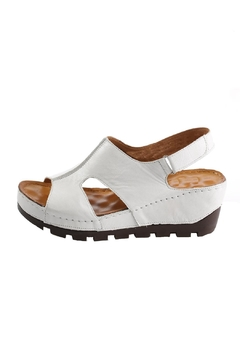 Shoptiques Product: Wedge Leather Sandals