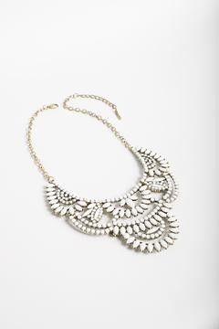 Unbranded White Bib Necklace - Product List Image