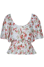 MINK PINK Uncharted Heart Blouse - Product Mini Image