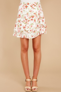 MINK PINK Uncharted Heart Mini Skirt - Product List Image