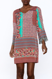 Uncle Frank Anastasia Mix Print Dress - Product Mini Image