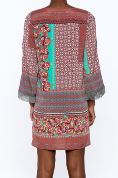 Uncle Frank Anastasia Mix Print Dress - Alternate List Image