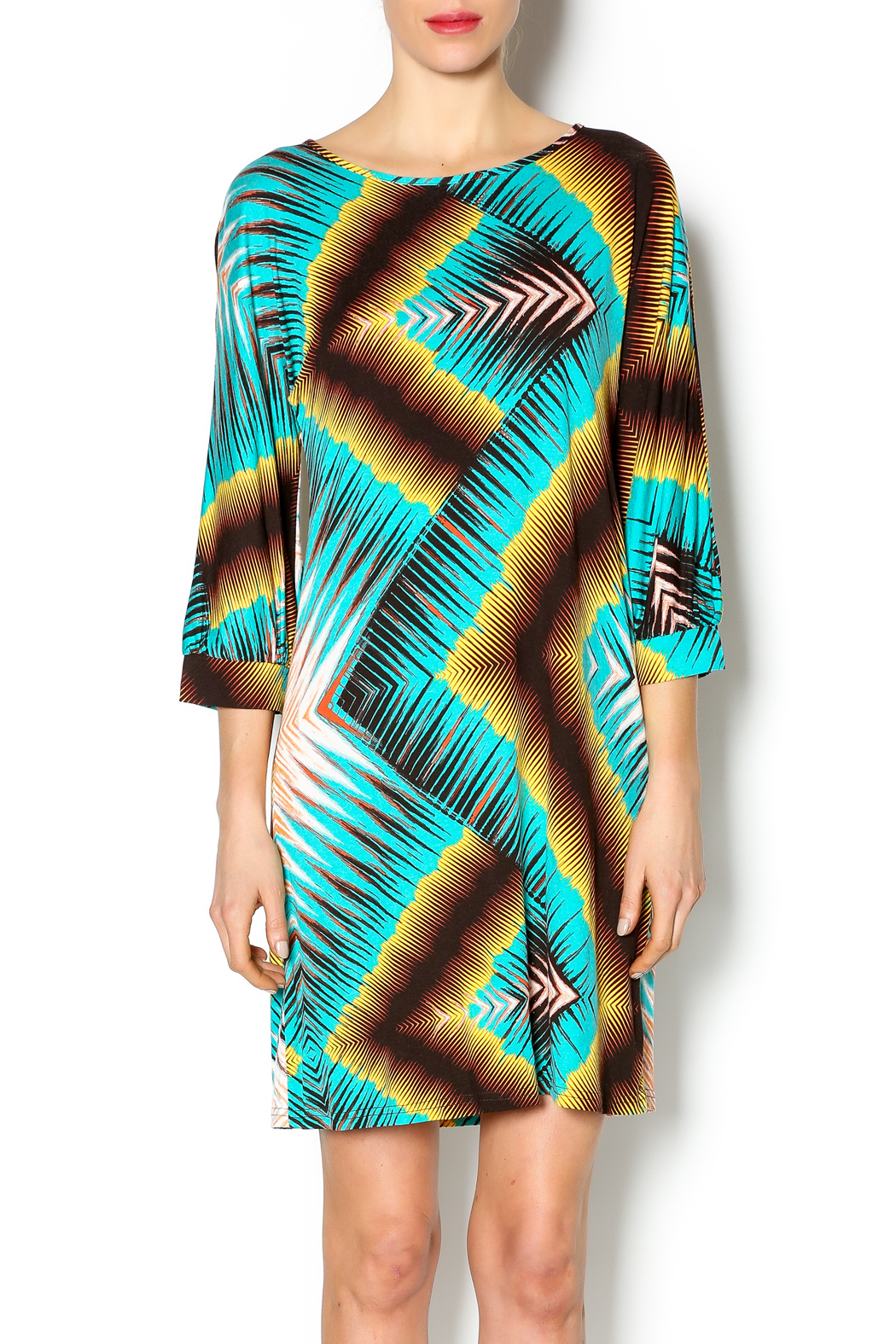 Uncle Frank Dolman Sleeve Dress - Front Cropped Image