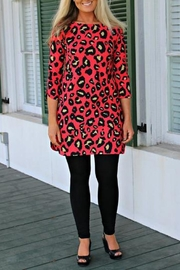 Uncle Frank Leopard Dress - Product Mini Image