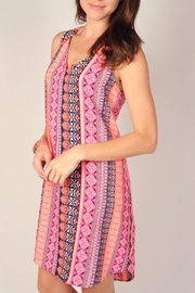 Uncle Frank Neon Pink Dress - Front cropped