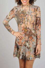 Uncle Frank Winter Floral Dress - Front cropped