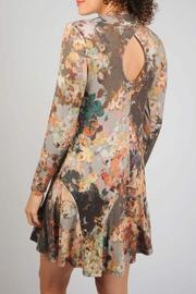 Uncle Frank Winter Floral Dress - Front full body