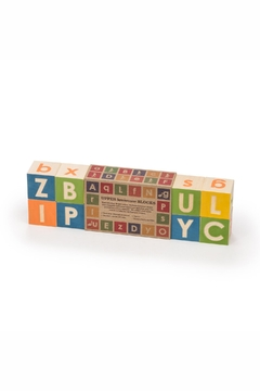 Uncle Goose Upper Lowercase Blocks - Product List Image