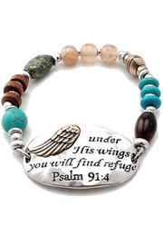 Nadya's Closet Under-His-Wings Bracelet - Product Mini Image