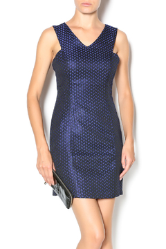 Shoptiques Product: Blue Dot Dress
