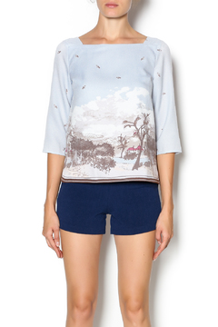Under Skies Blue Sky Blouse - Product List Image