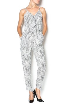 Shoptiques Product: White And Black Jumpsuit