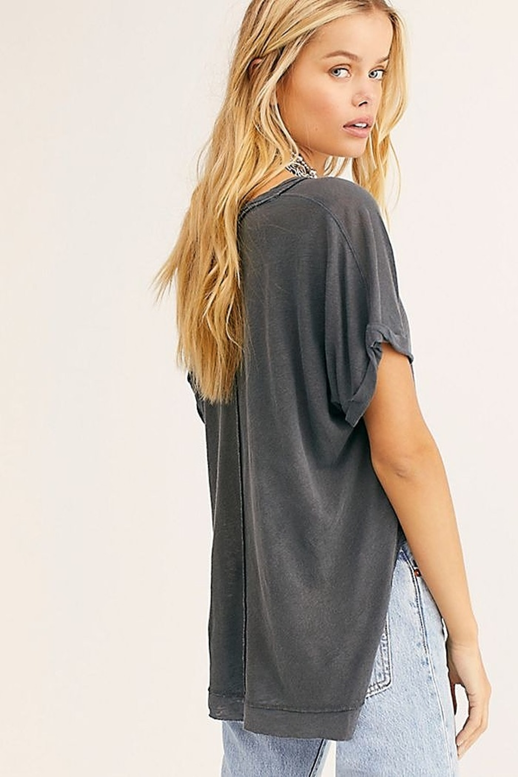 Free People Under The Sun Tee - Front Full Image