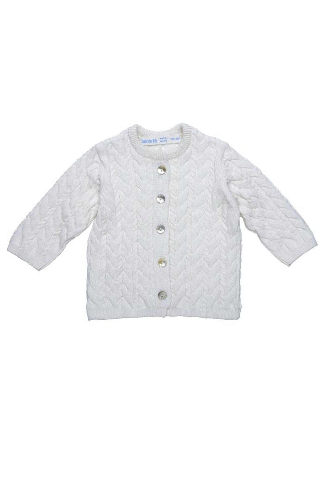 Under the Nile Off-White Cardigan Sweater from Arkansas by Terra ...