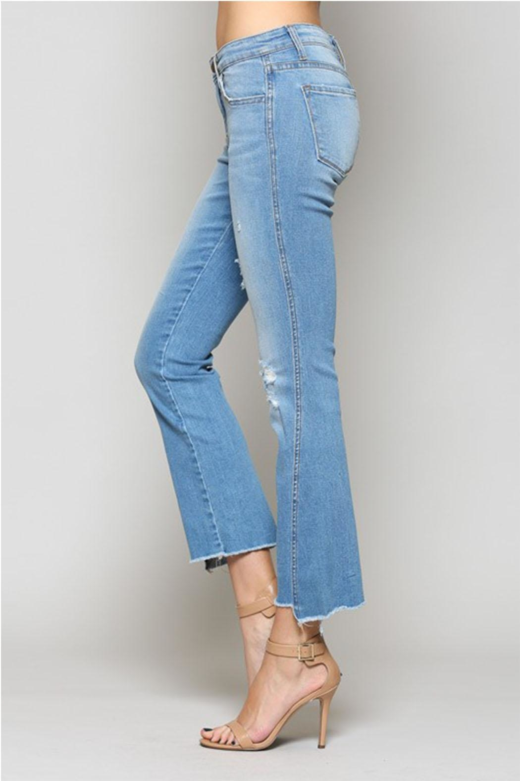 Flying Monkey Uneven Seam Denim - Side Cropped Image