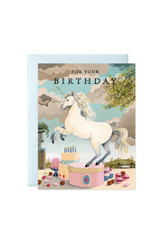 JooJoo Paper Unicorn Birthday Card - Product Mini Image
