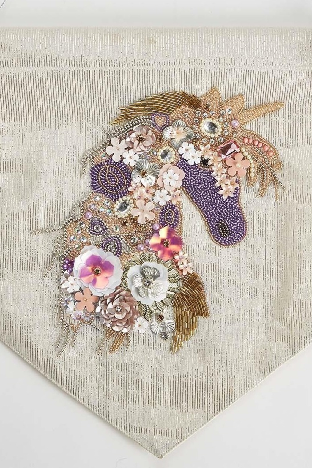 The Birds Nest Unicorn Embellished Wall Decor - Front Full Image