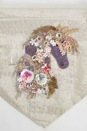 The Birds Nest Unicorn Embellished Wall Decor - Front full body