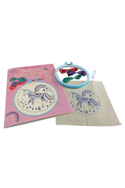 Usborne Unicorn Embroidery Kit - Product Mini Image