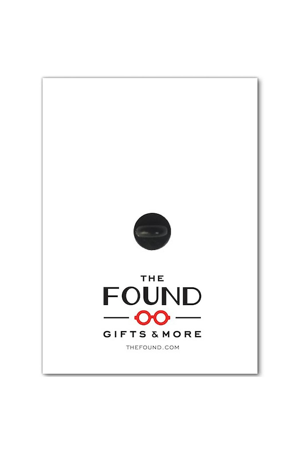 The Found Unicorn Enamel Pin - Front Full Image