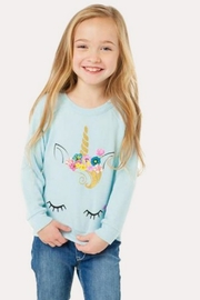 Chaser Unicorn Face Pullover - Product Mini Image