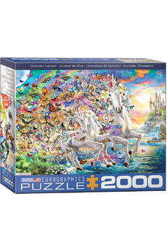 Shoptiques Product: Unicorn Fantasy 2000 Piece Puzzle