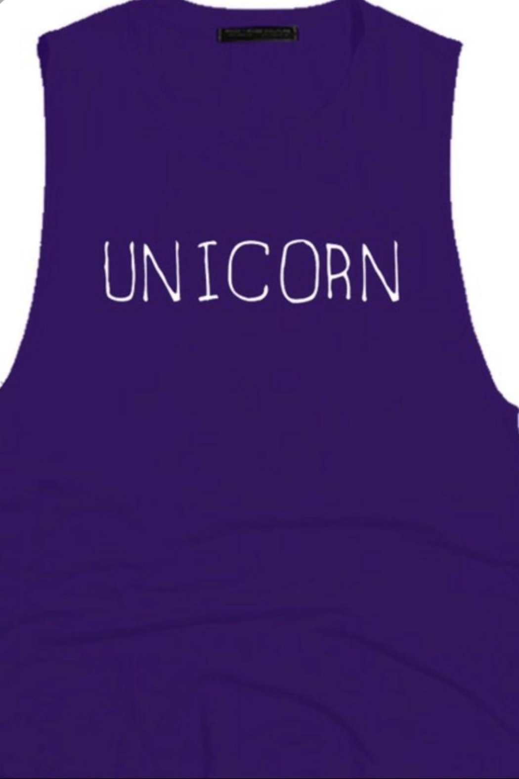 Rock Rose Couture Unicorn Graphic Tank - Main Image