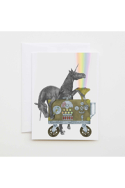 Central & Gus Unicorn Greeting Card - Product Mini Image