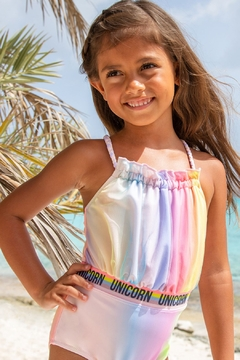 Shade Critters Unicorn Halter One-piece Swimsuit - Product List Image