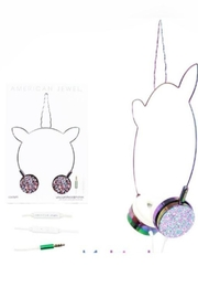 American Jewel Unicorn Headphone Confetti - Product Mini Image