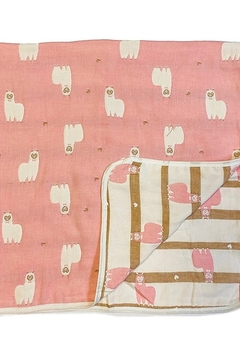 Shoptiques Product: Unicorn Infant Cotton Blanket
