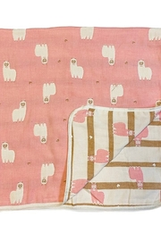 Lady Charm Unicorn Infant Cotton Blanket - Product Mini Image