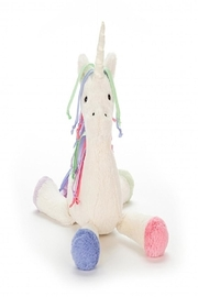 Jellycat Unicorn Lollopylou Chime - Front cropped