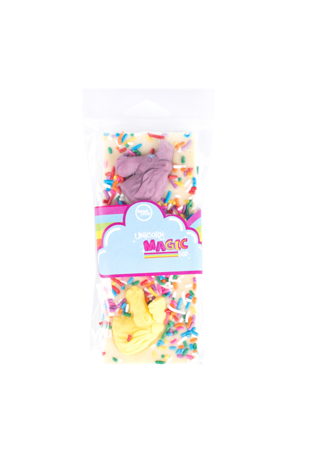 Sweet Pete's Unicorn Magic White Chocolate Bar - Main Image