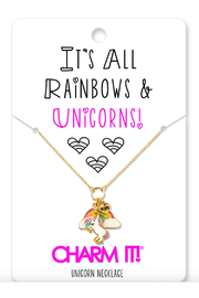 Charm It Unicorn Necklace - Product Mini Image