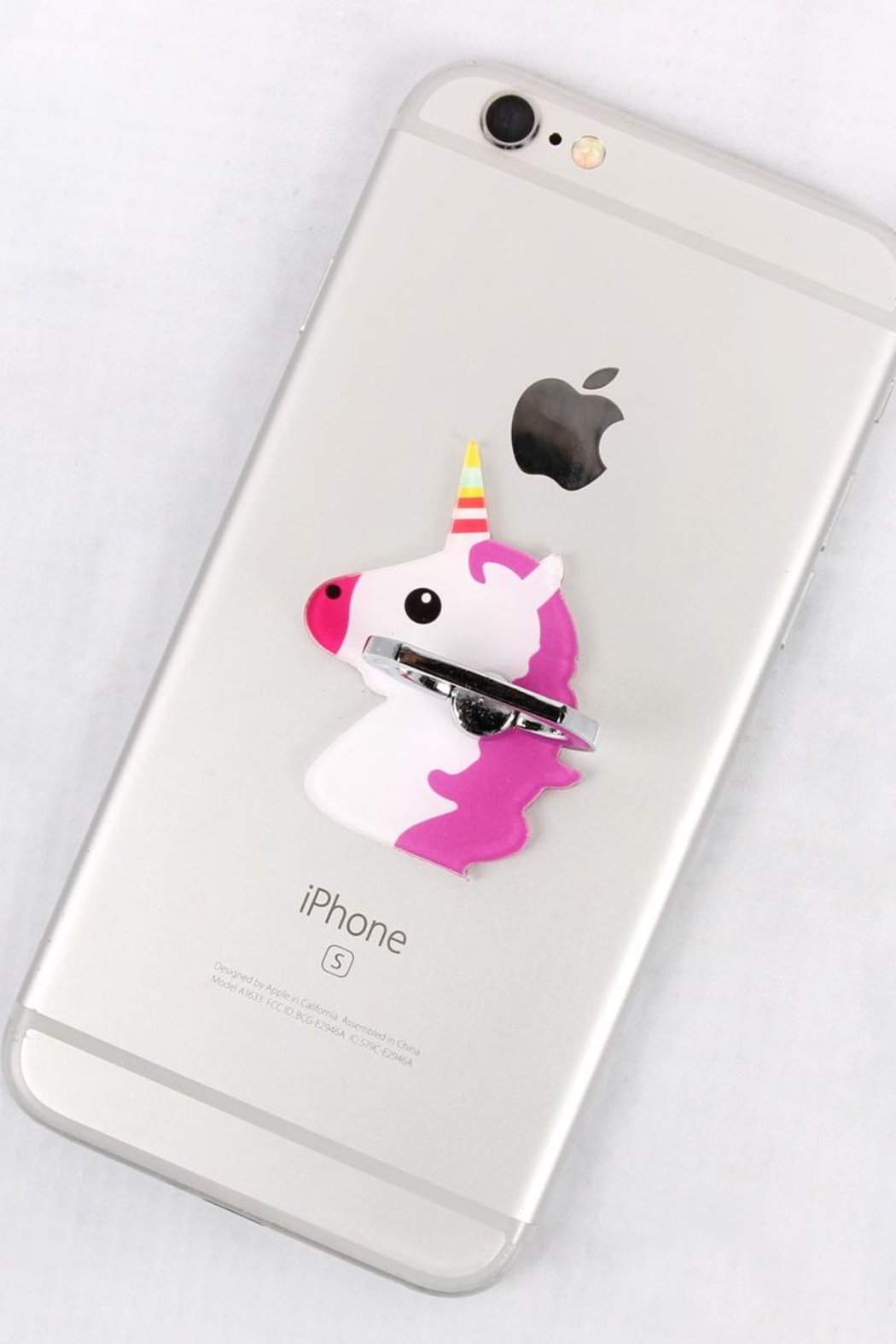 Riah Fashion Unicorn Phone Holder - Side Cropped Image