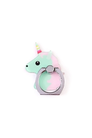 Riah Fashion Unicorn Phone Holder - Front cropped