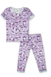 Esme Unicorn Pj Set - Front cropped