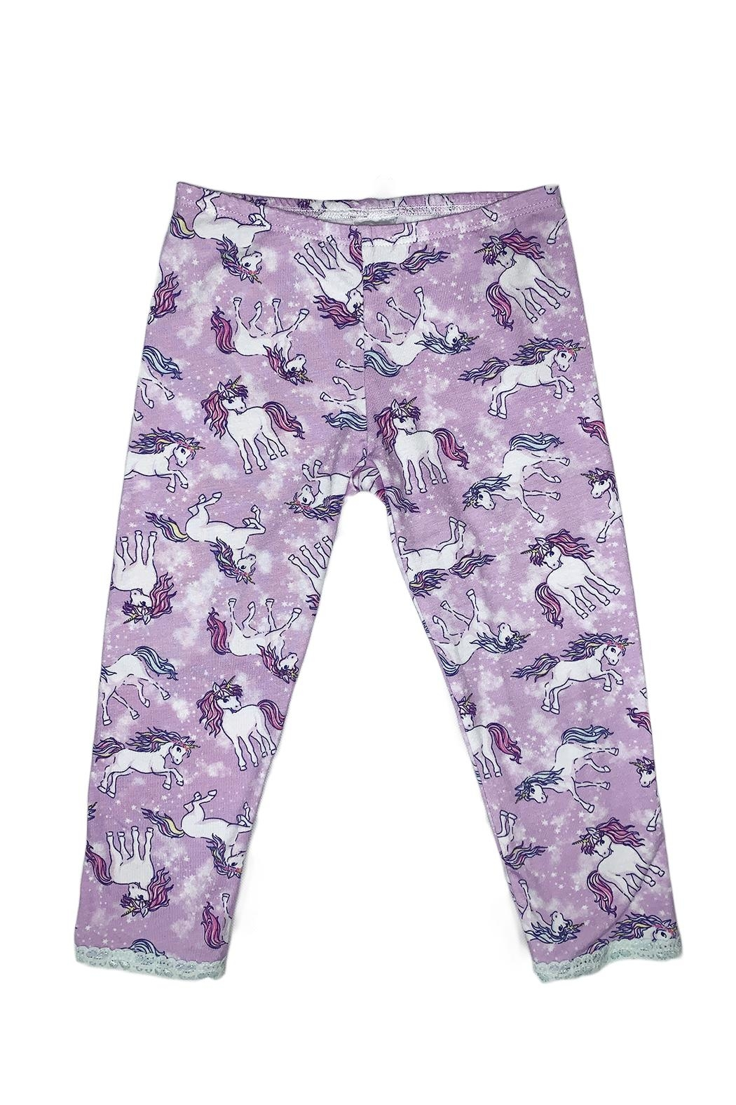 Esme Unicorn Pj Set - Side Cropped Image