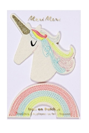 Meri Meri Unicorn & Rainbow Patches - Product Mini Image