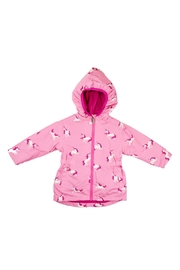 Hatley Unicorn Raincoat - Front cropped