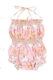 Pickles & Olive's Unicorn Romper - Front cropped