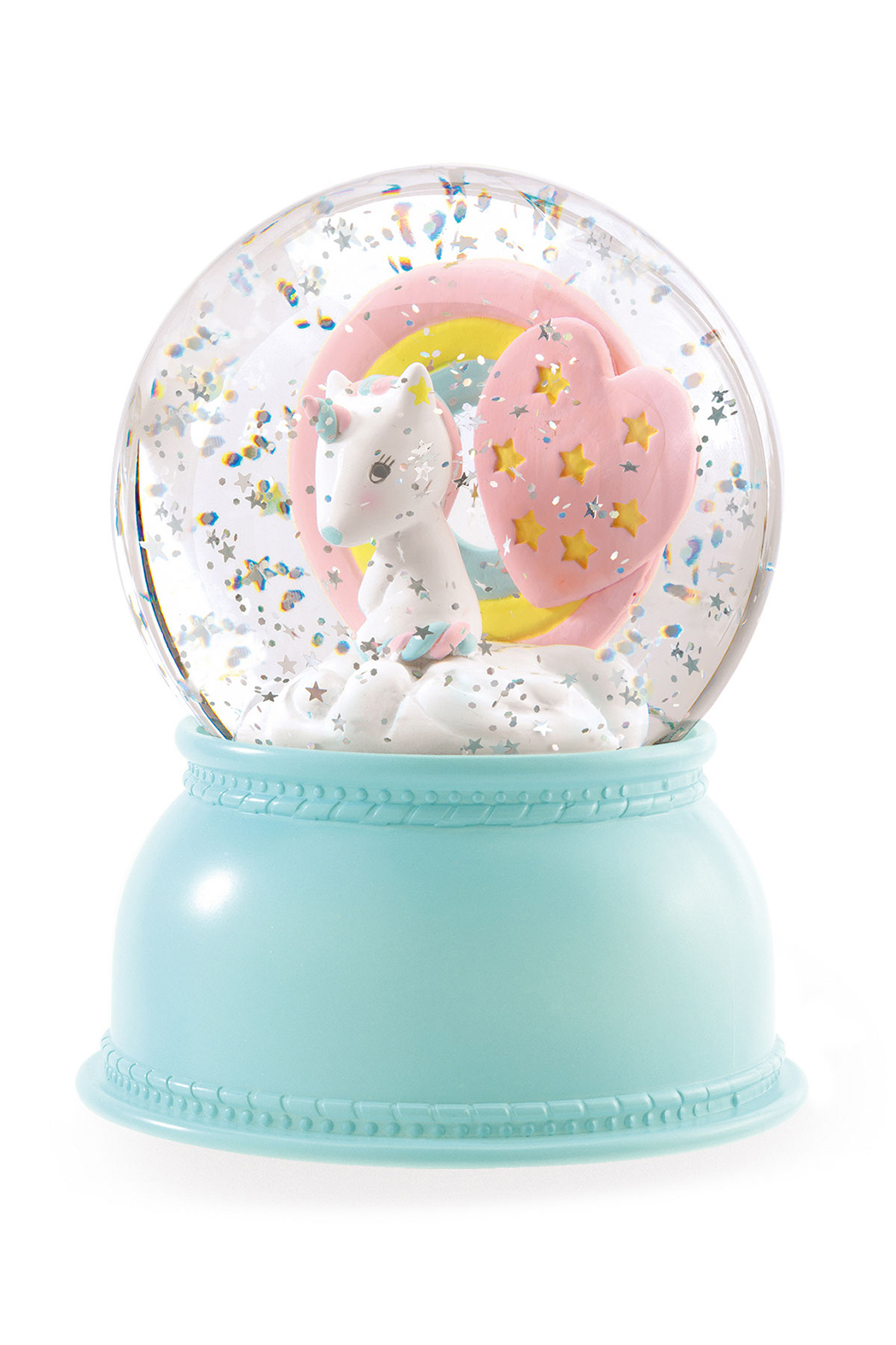 Djeco  Unicorn Snow Globe Night Light - Main Image
