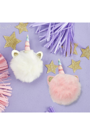 Cupcakes and Cartwheels Unicorn Sparkles Pom Pom Hair Tie - Product Mini Image