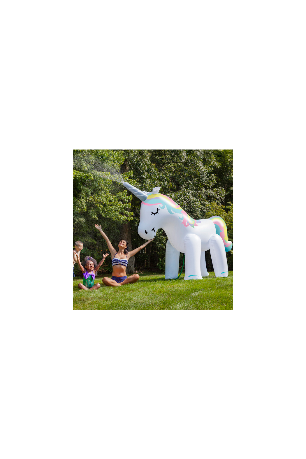 BIGMOUTH Unicorn Sprinkler - Front Cropped Image