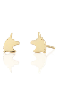Shoptiques Product: Unicorn Stud Earrings