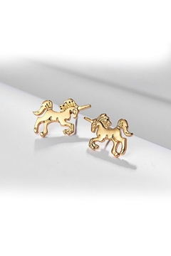 Mimi's Gift Gallery Unicorn Studs - Product List Image