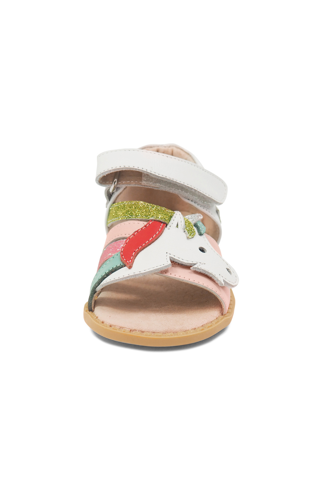 Livie & Luca Unicorn Youth Sandals - Side Cropped Image