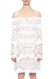 Union of Angels White Lace Dress - Side cropped