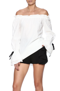 Union of Angels White Peyton Top - Product List Image